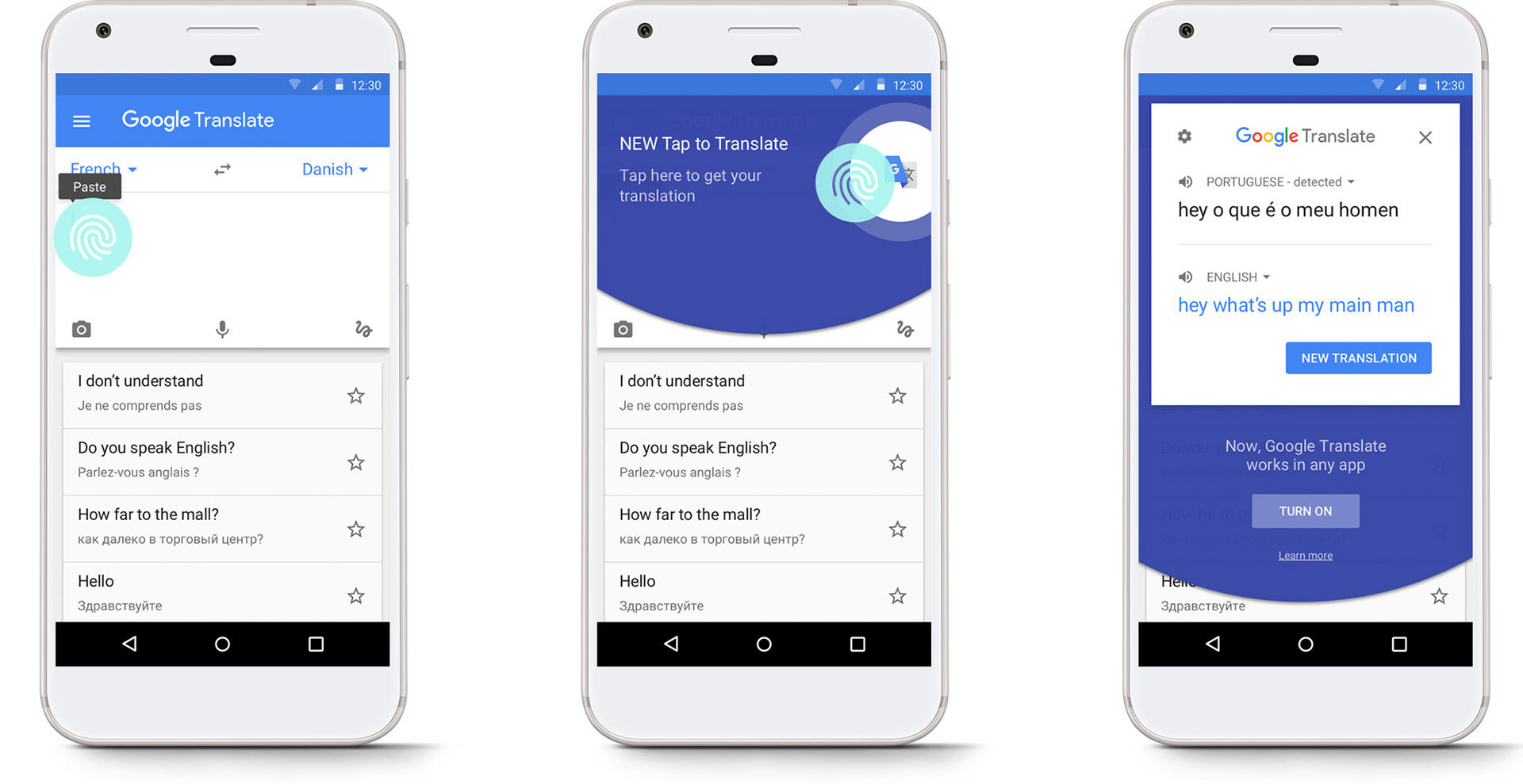 af3e3c22f5 This contextual feature promotion completely outperformed our static promo  card on the home screen and is how most Google Translate users discover Tap  to ...