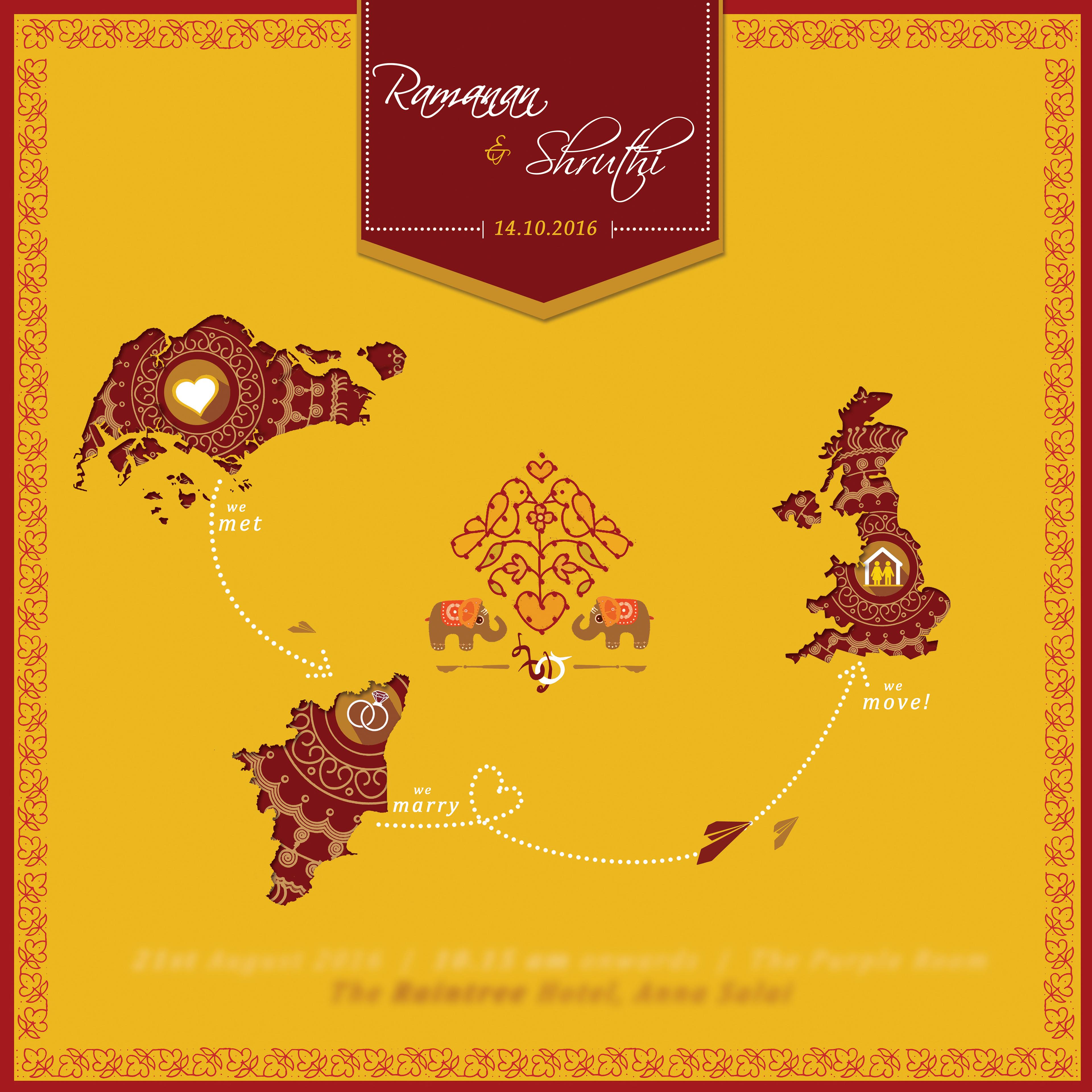 Culture Curry - Creative Invitations - Indian E-Invitations