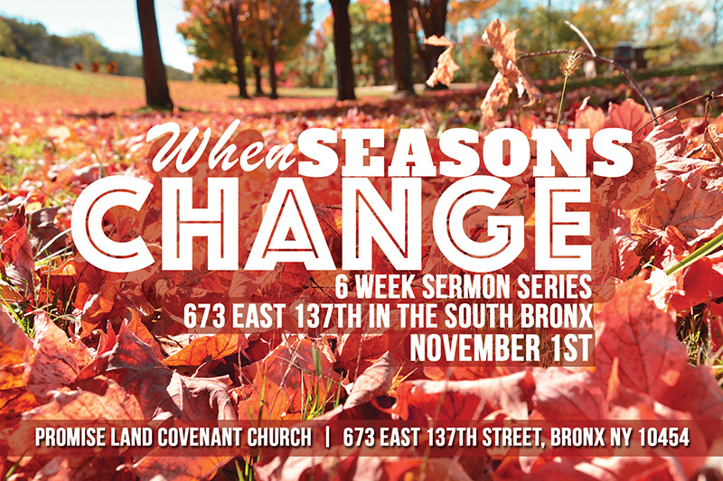 Vivid Dezigns Portfolio - When Seasons Change: 6 Week Sermon Series