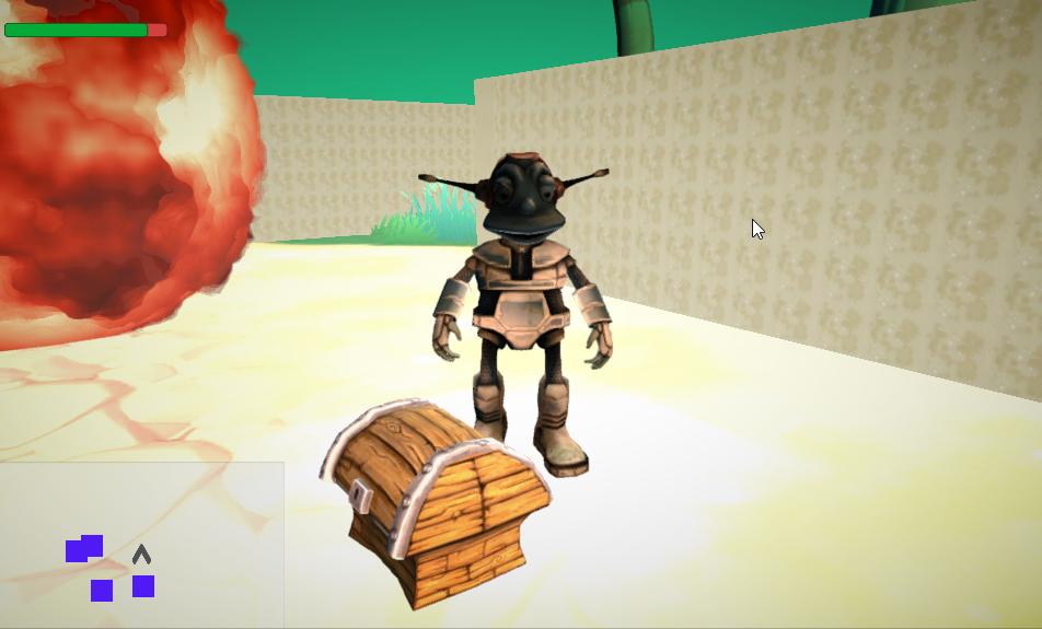 sintija linuza - 3D interactive Game in Unity