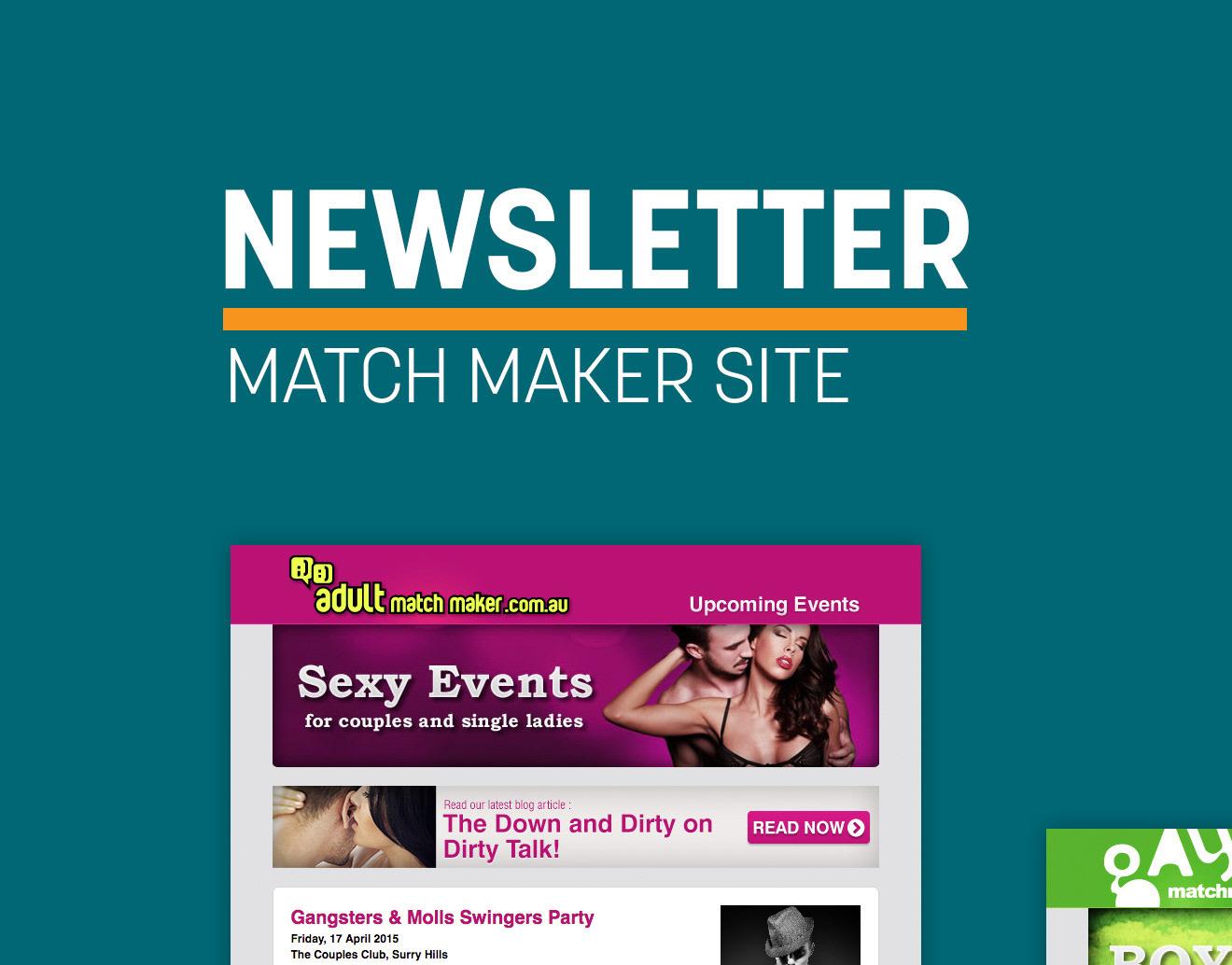 Newsletter (Match Maker Site)