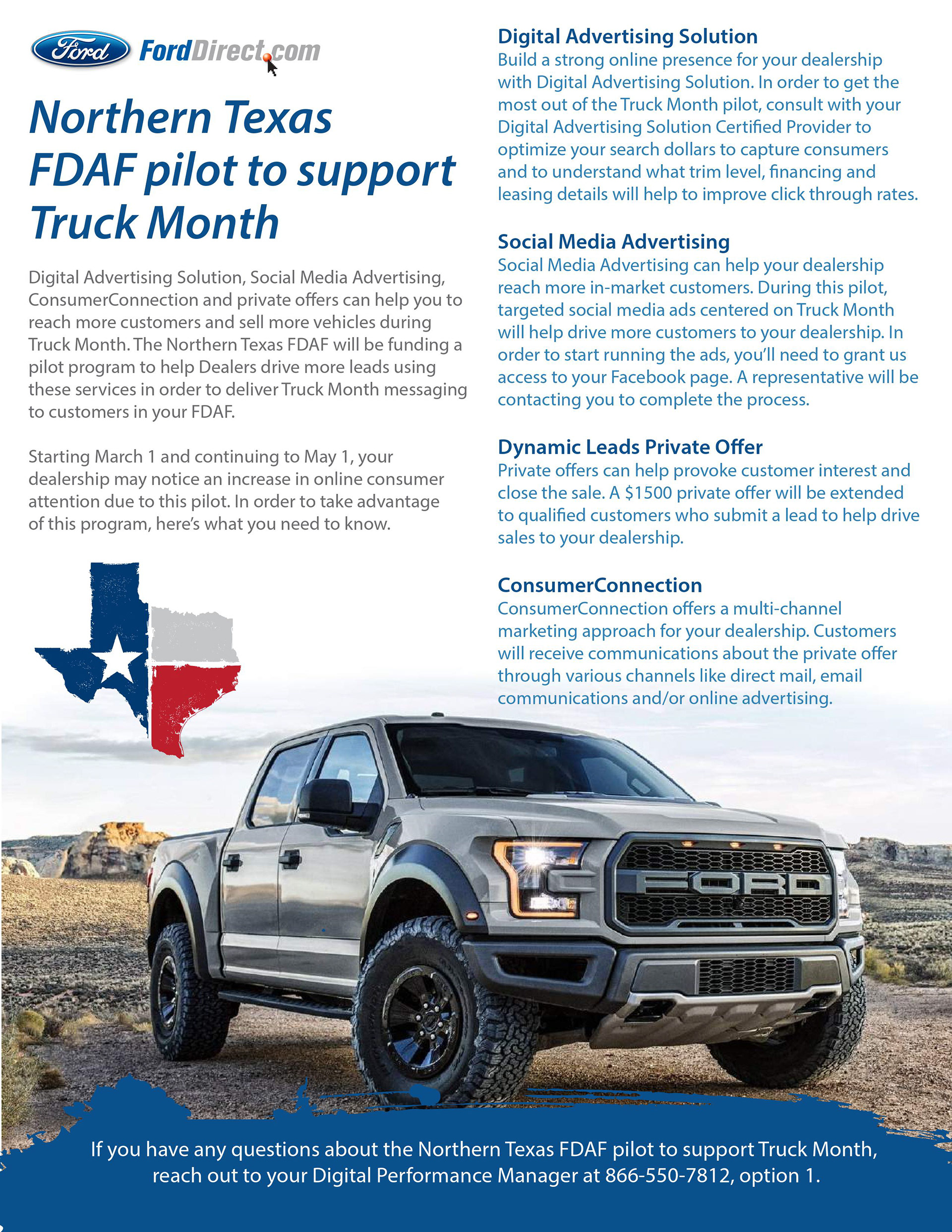 Forddirect fdaf 1 pager sell sheet
