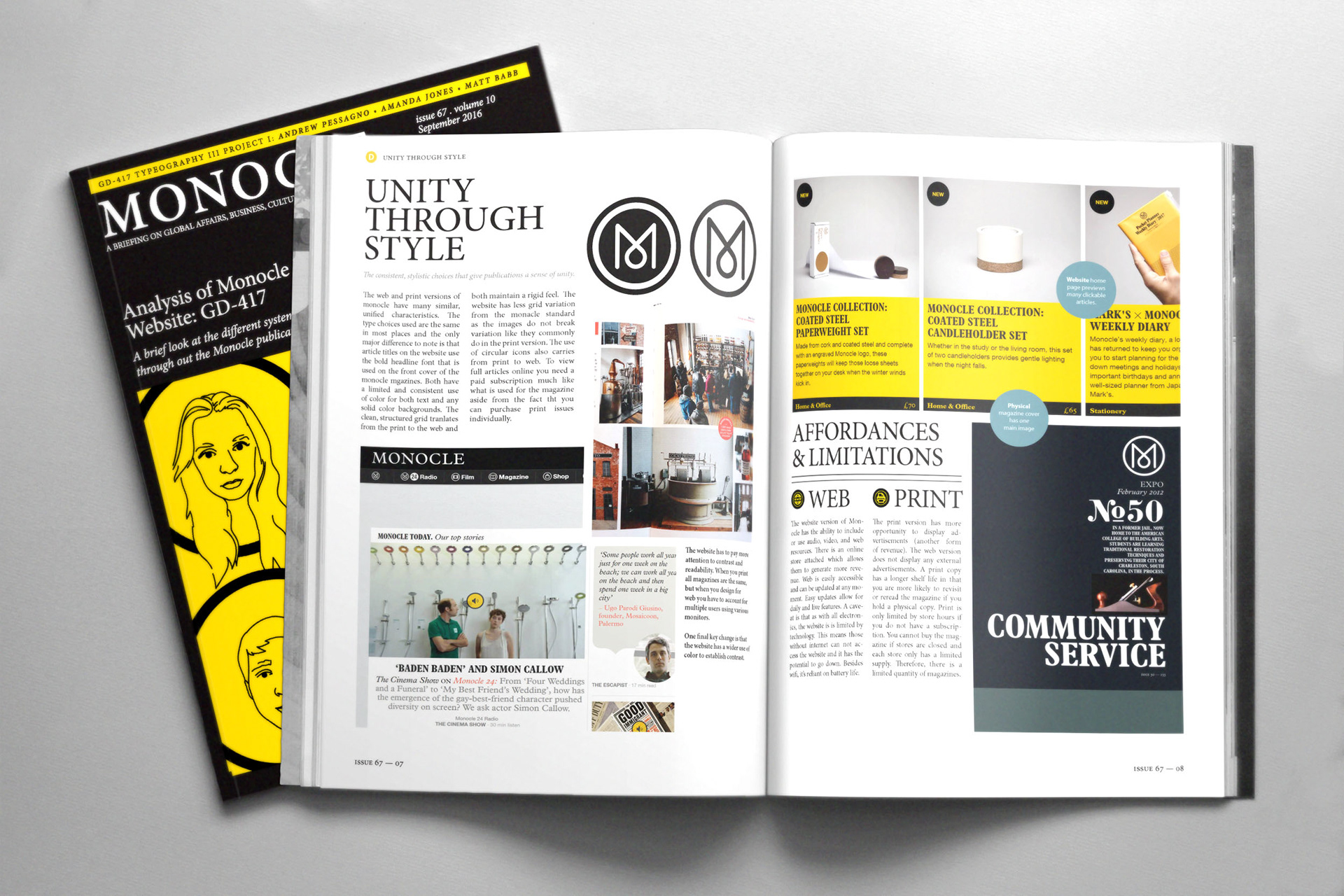 Matt Babb - Monocle Magazine Analysis