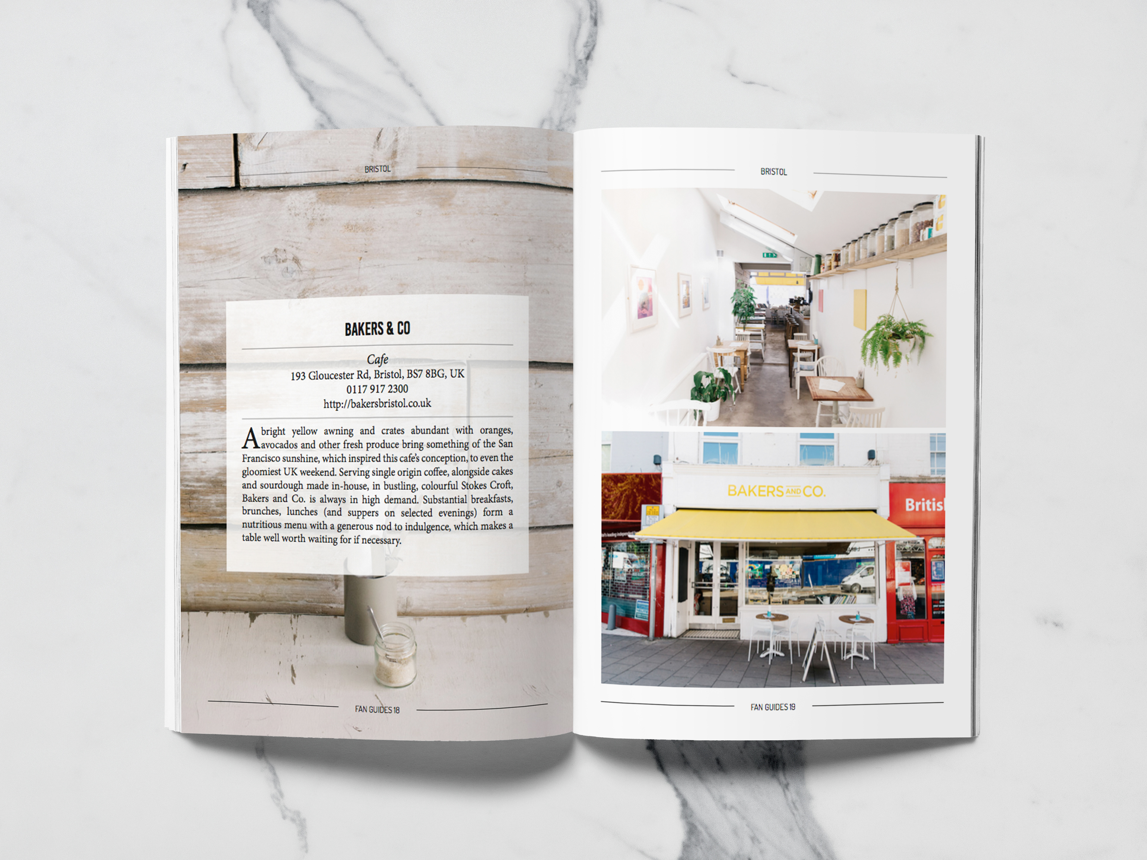 It Consists On The Design Of A Travels Magazine Guide Layout And Creation An Interactive App Grid Following Same Graphic Line