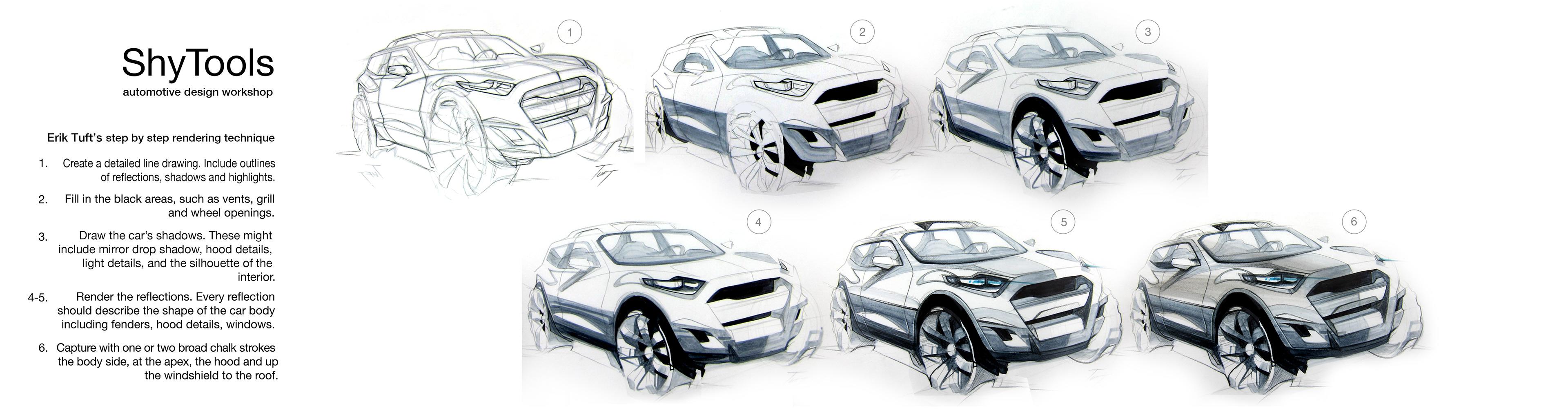 Erik Tuft Shanghai Car Design Workshop